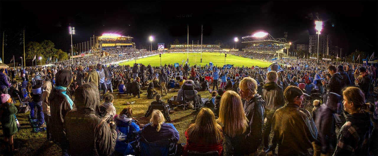 Does Rugby League need new big stadiums?