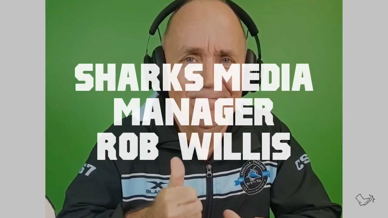 Promo – Sharks Media Manager Rob Willis this week on The Naked Punt