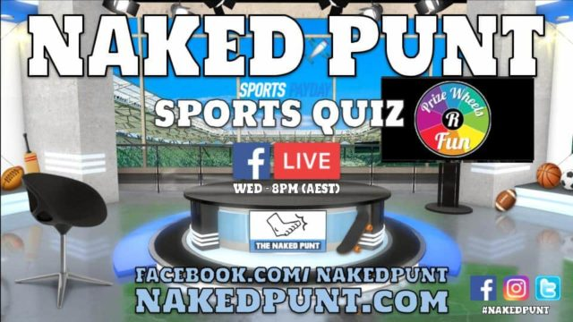 The Naked Punt Footy Show Sports Quiz