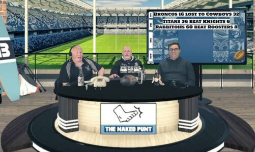 Rabbits 60 Roosters The Naked Punt NRL Footy Show% Episode 58