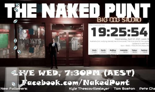 The Naked Punt Footy Show – ANZAC '21 Edition