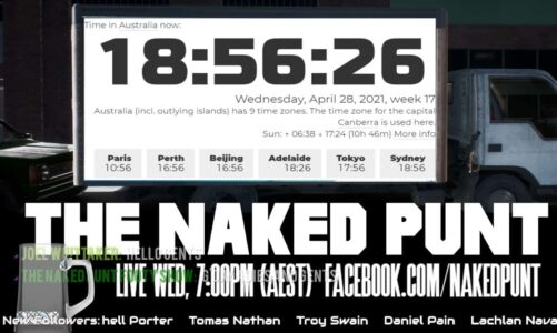 The Naked Punt Footy Show – World Naked Gardening Day Edition – S03EP08