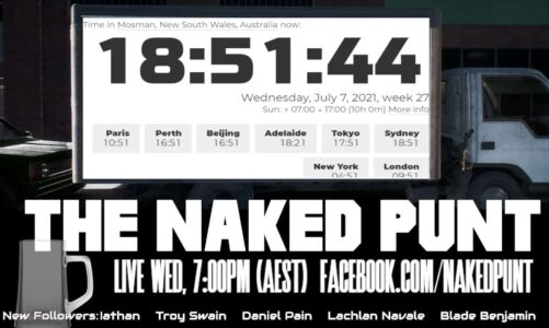 The Naked Punt Footy Show – Eggplant Edition